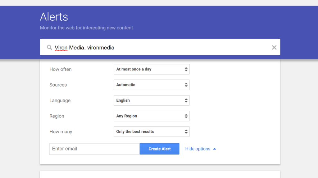 How to Set up Google Alerts for Your Website (and Why It's a Good Idea)